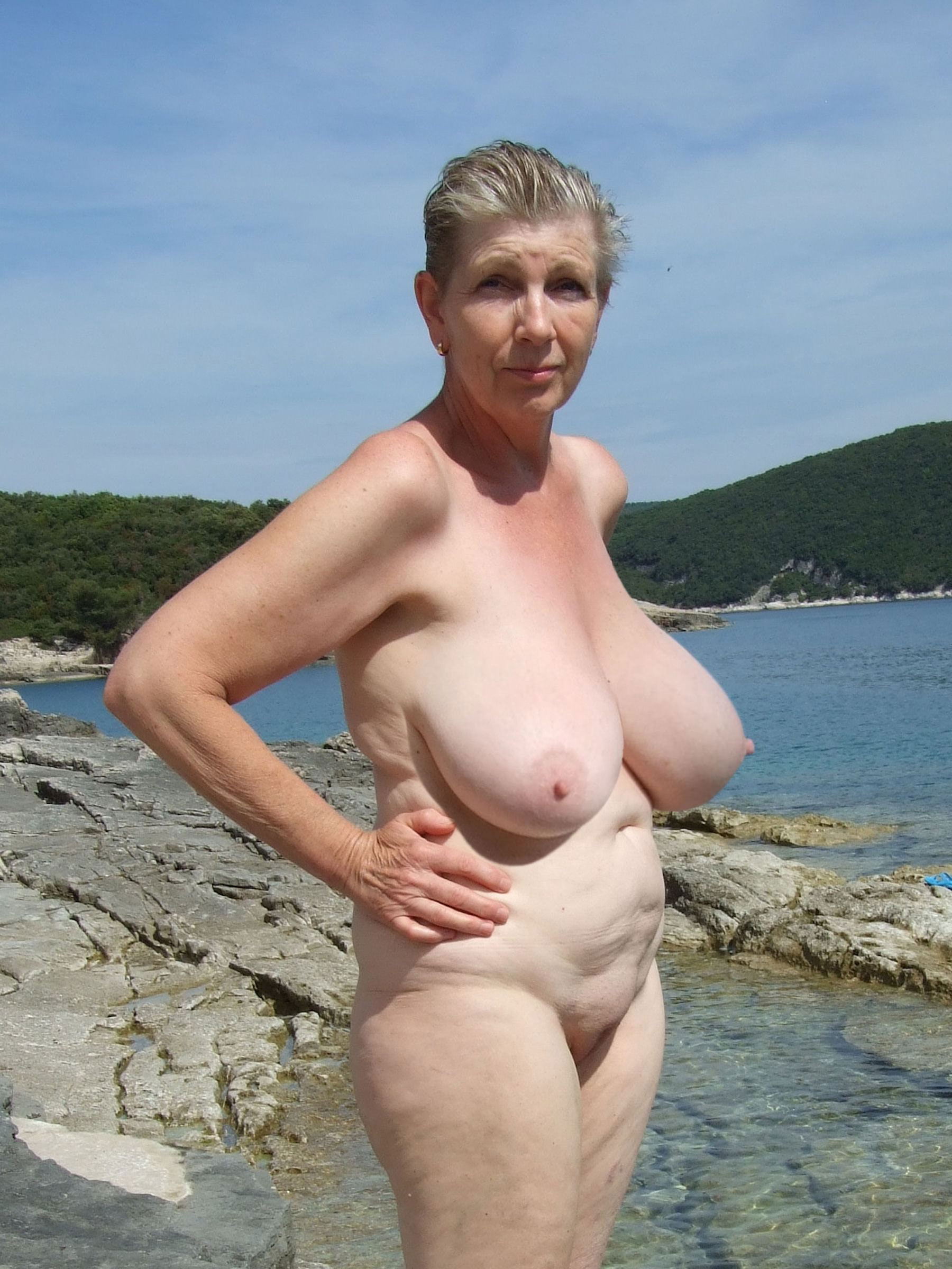 Chubby naked beach simply matchless