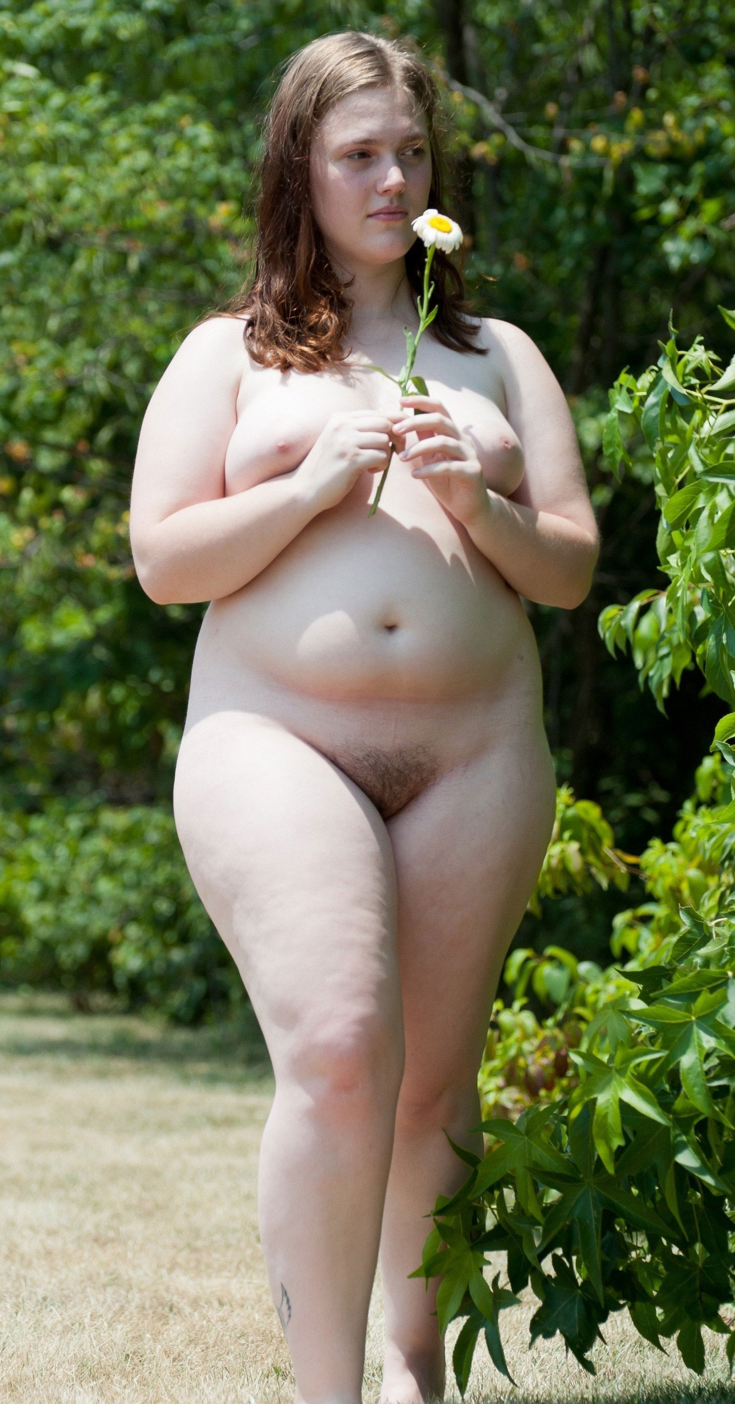 Pale naked women super