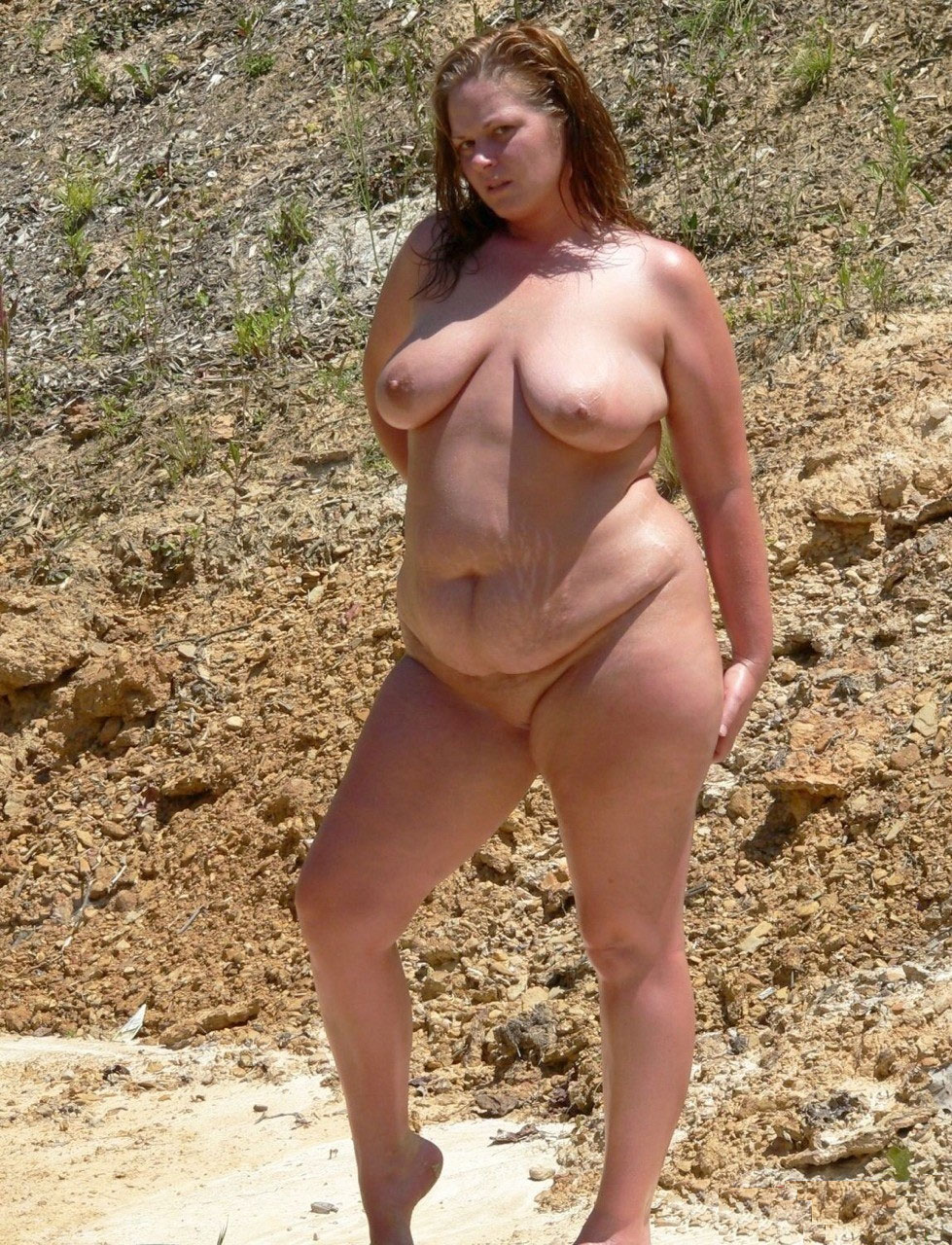 fat nudist